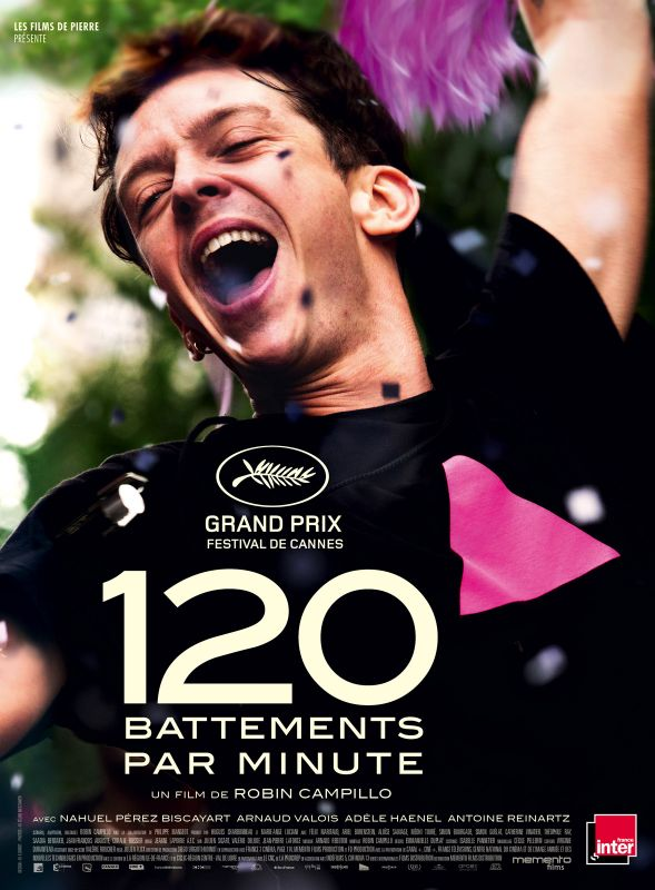 Jaquette du film 120 battements Par Minute