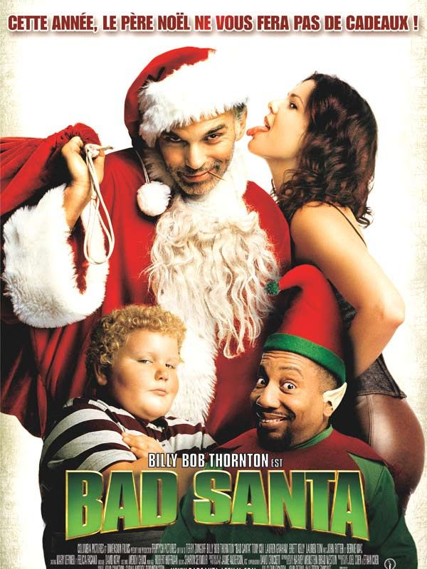 Affiche du film Bad Santa (2003) de Terry Zwigoff.