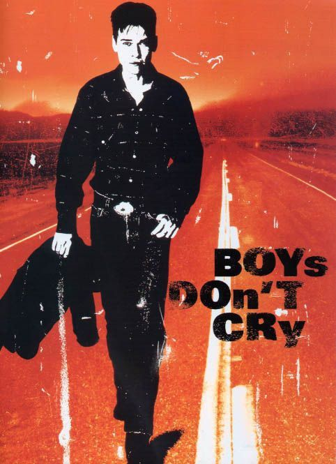 Affiche du film Boys Don't Cry (1999) de Kimberly Peirce.