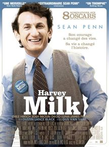 Affiche du film Harvey Milk (2008) de Gus Van Sant.
