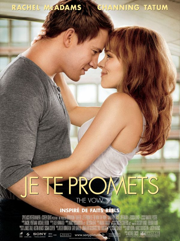 Jaquette du film Je te promets - The Vow
