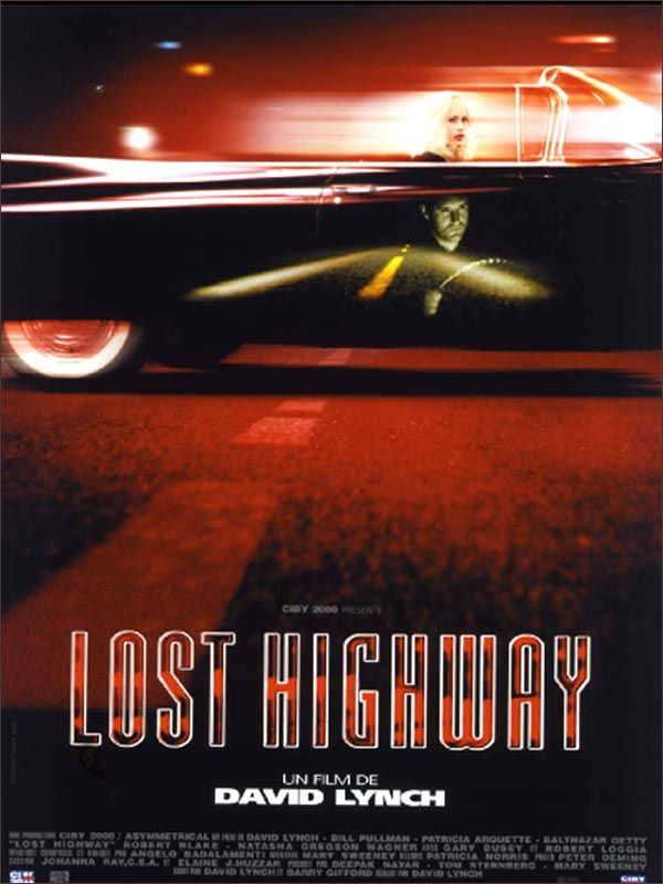 Jaquette du film Lost Highway