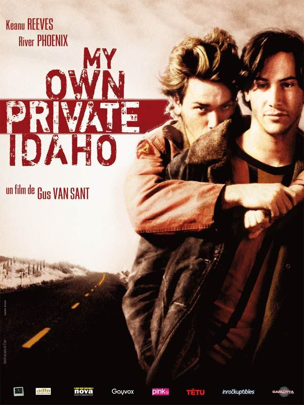 Affiche du film My Own Private Idaho (1991) de Gus Van Sant.