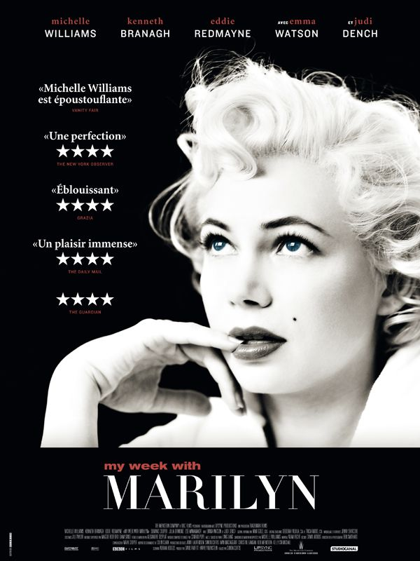 Jaquette du film My Week with Marilyn