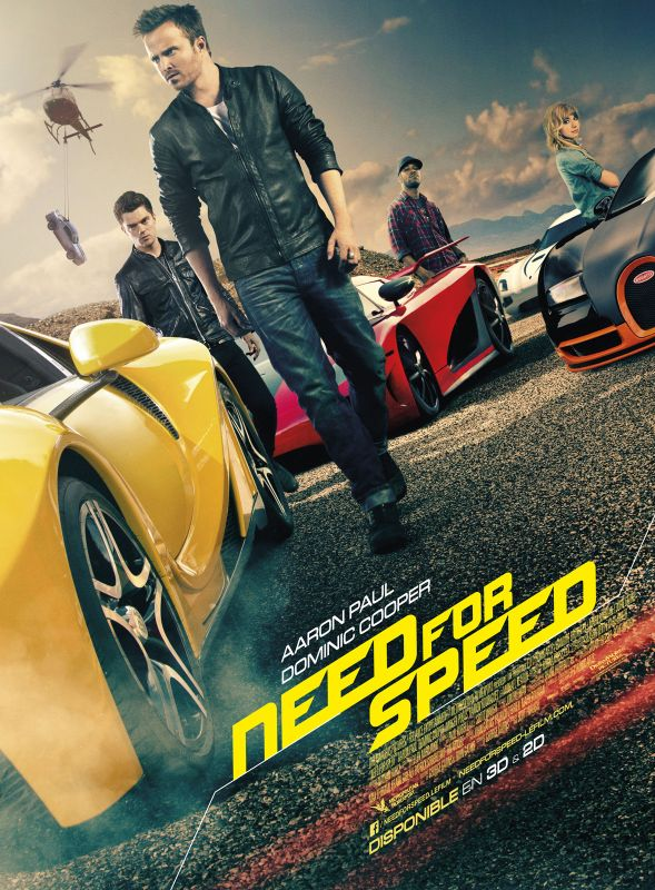 Jaquette du film Need for Speed