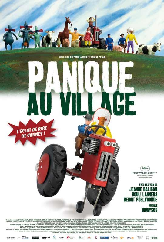 Jaquette du film Panique au village