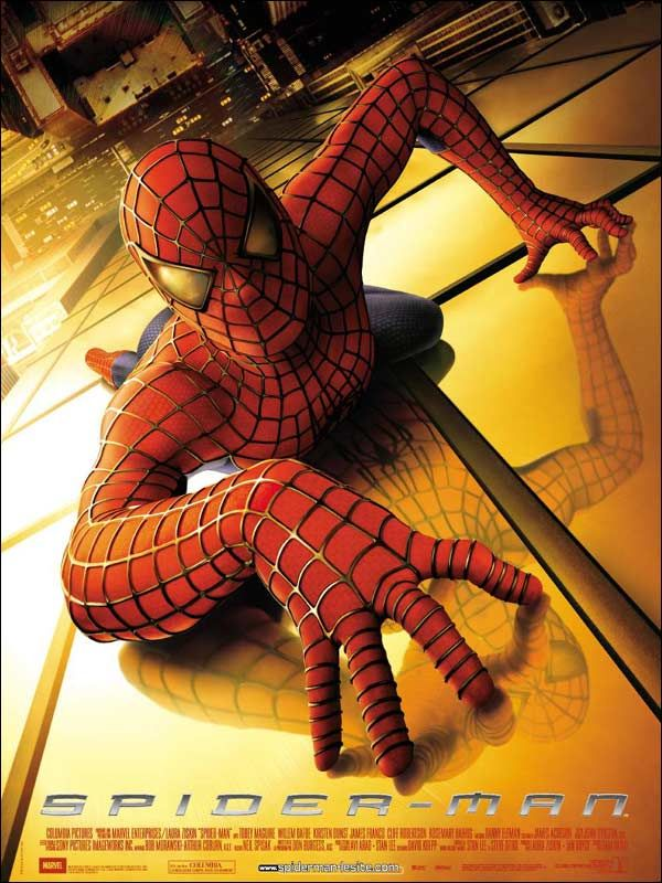 Jaquette du film Spider-Man