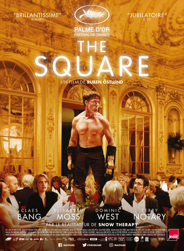 Jaquette du film The Square